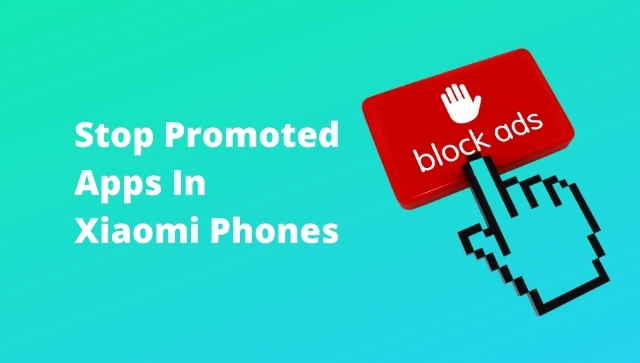 How To Stop Promoted Apps In Redmi